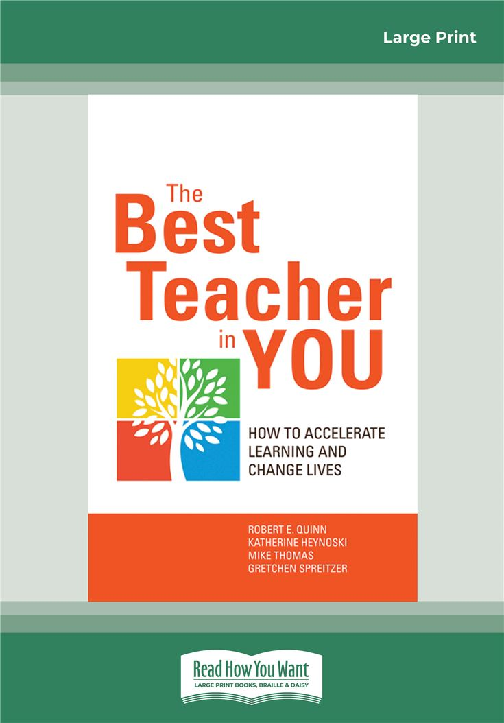 The Best Teacher in You