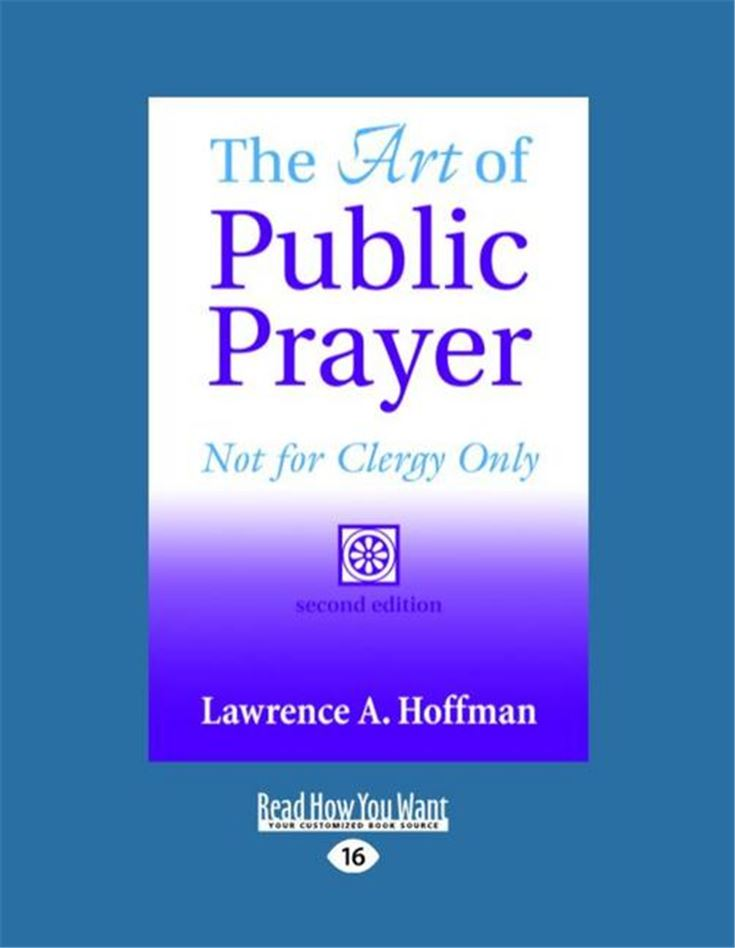 The Art of Public Prayer