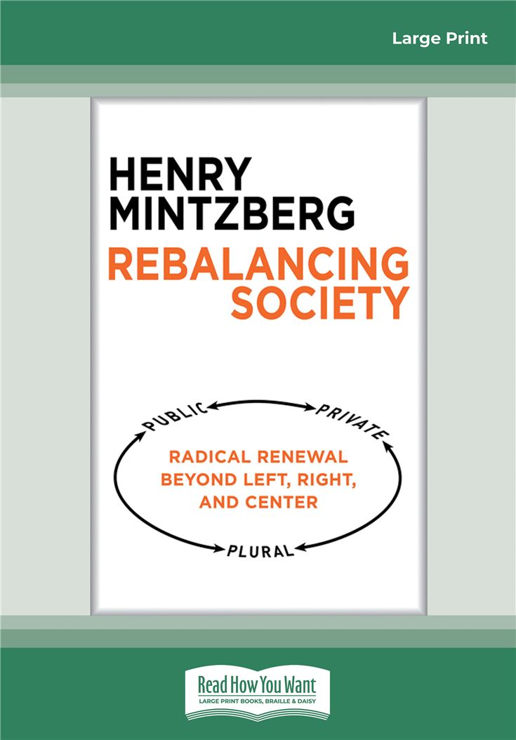 Rebalancing Society