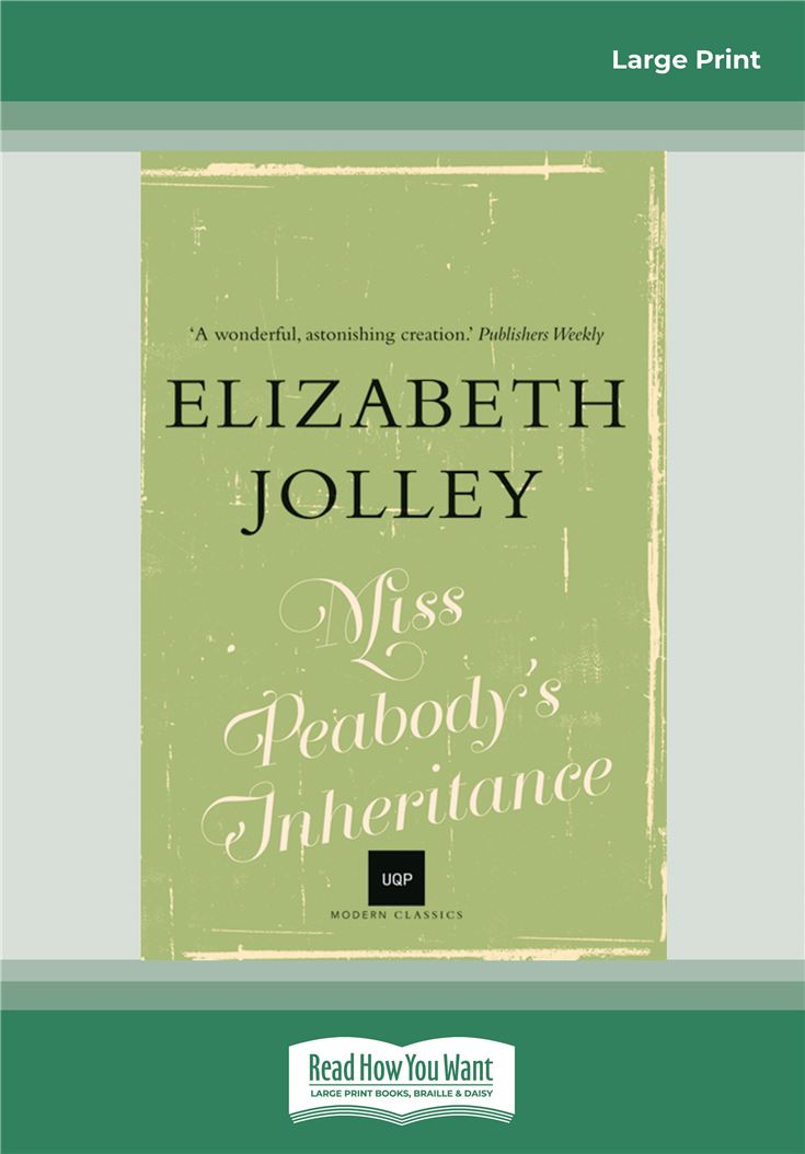 Miss Peabody's Inheritance