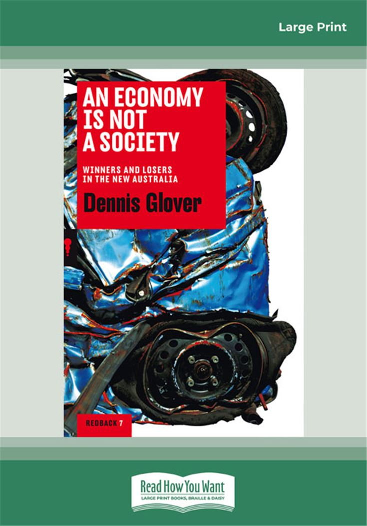 An Economy Is Not A Society