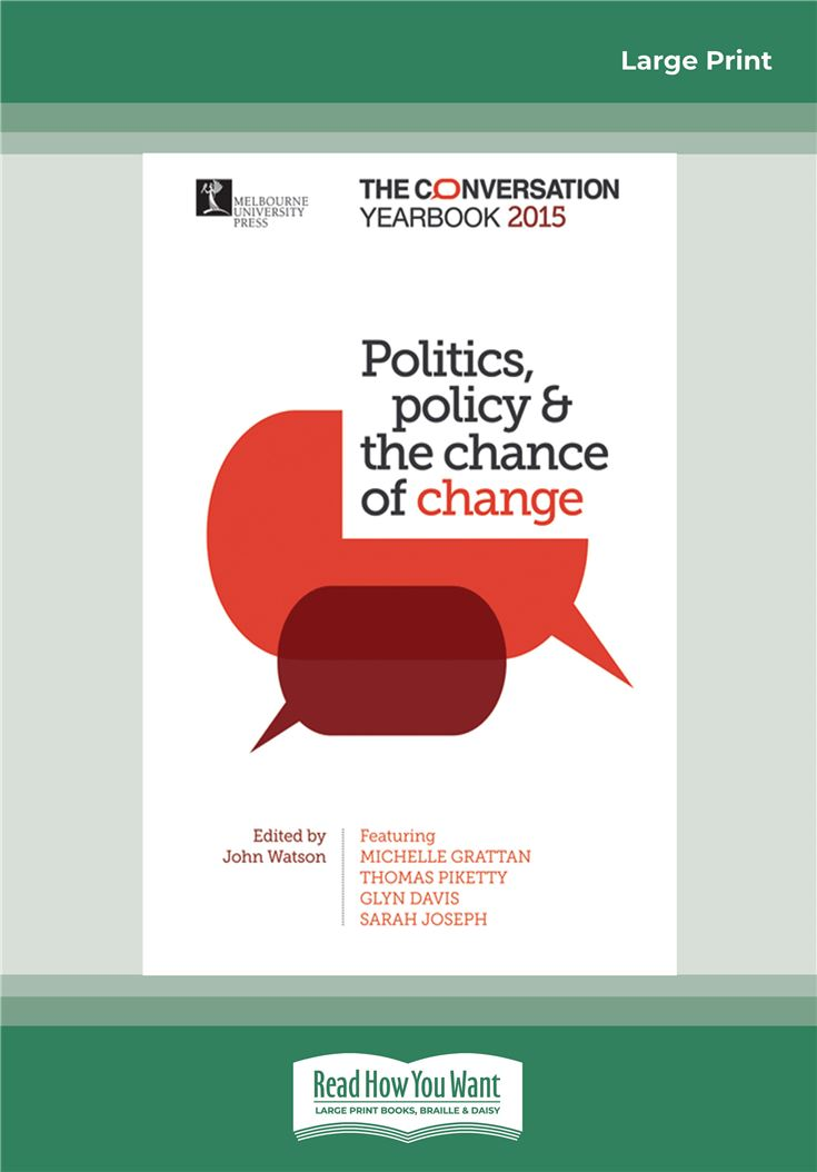 Politics, Policy and the chance of change
