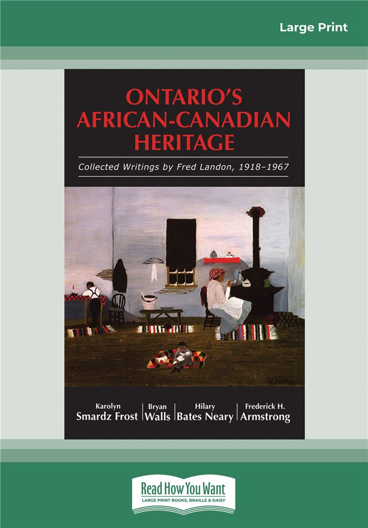 Ontario's African-Canadian Heritage