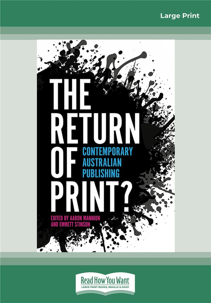 The Return of Print?