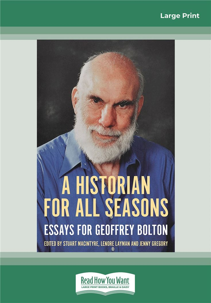 A Historian for All Seasons