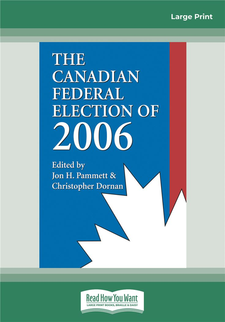 The Canadian Federal Election of 2006