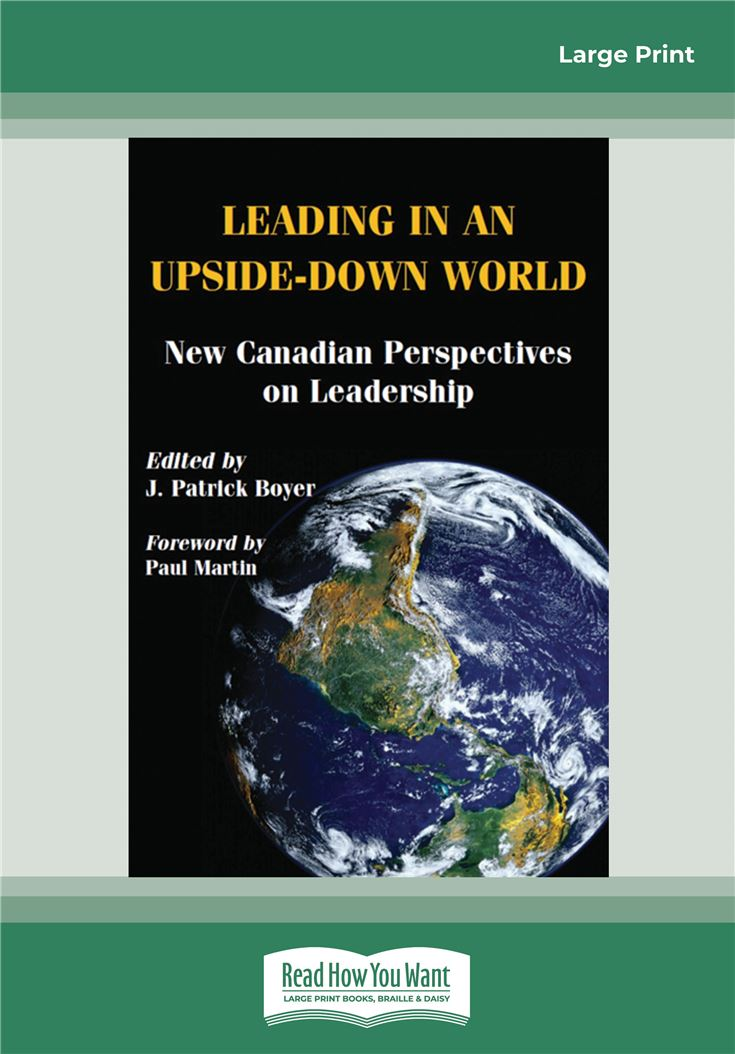 Leading in an Upside-Down World