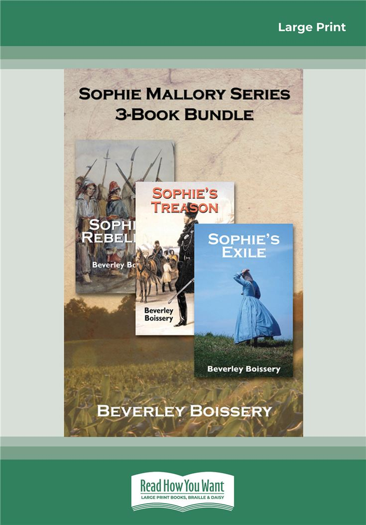 Sophie Mallory Series 3-Book Bundle