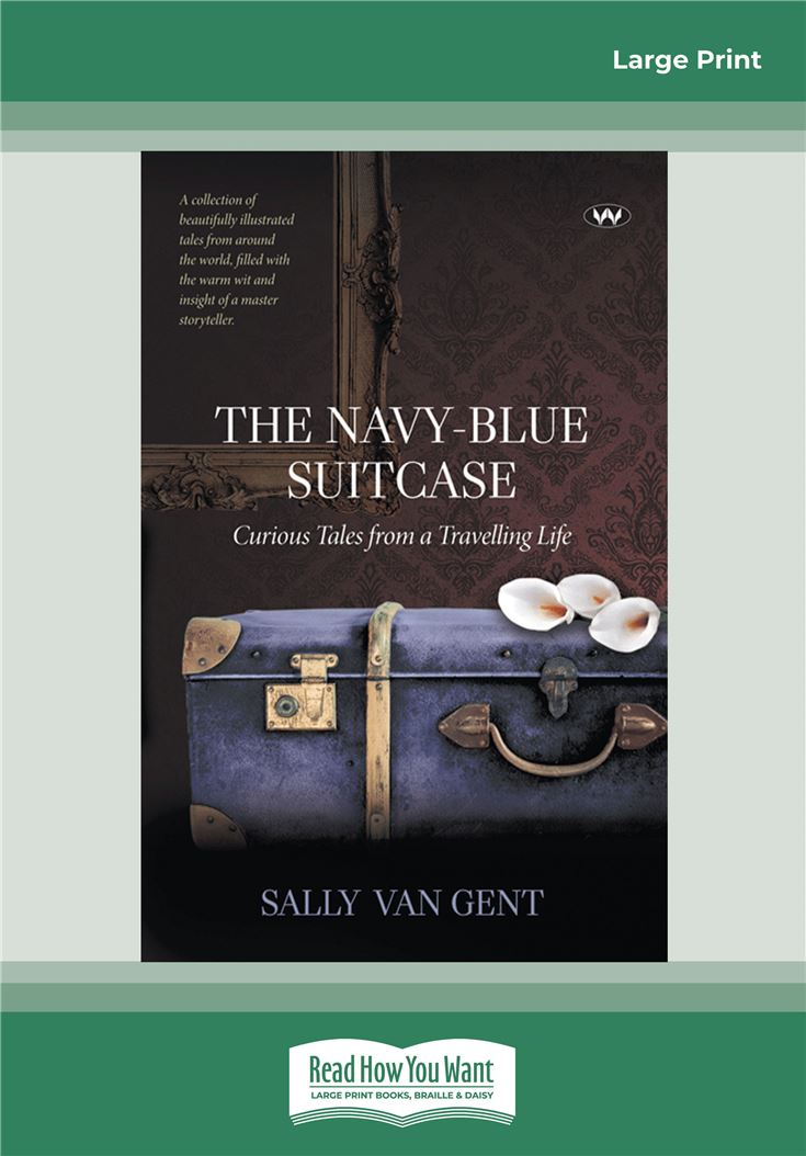 The Navy-blue Suitcase