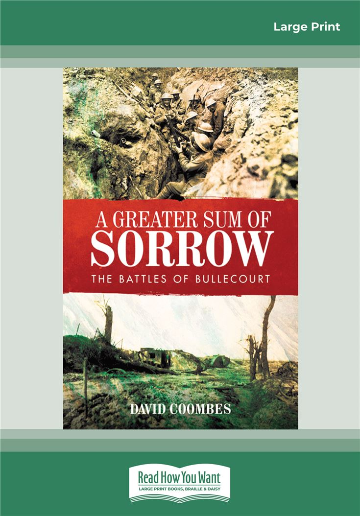 A Greater Sum of Sorrow