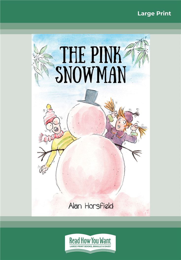 The Pink Snowman