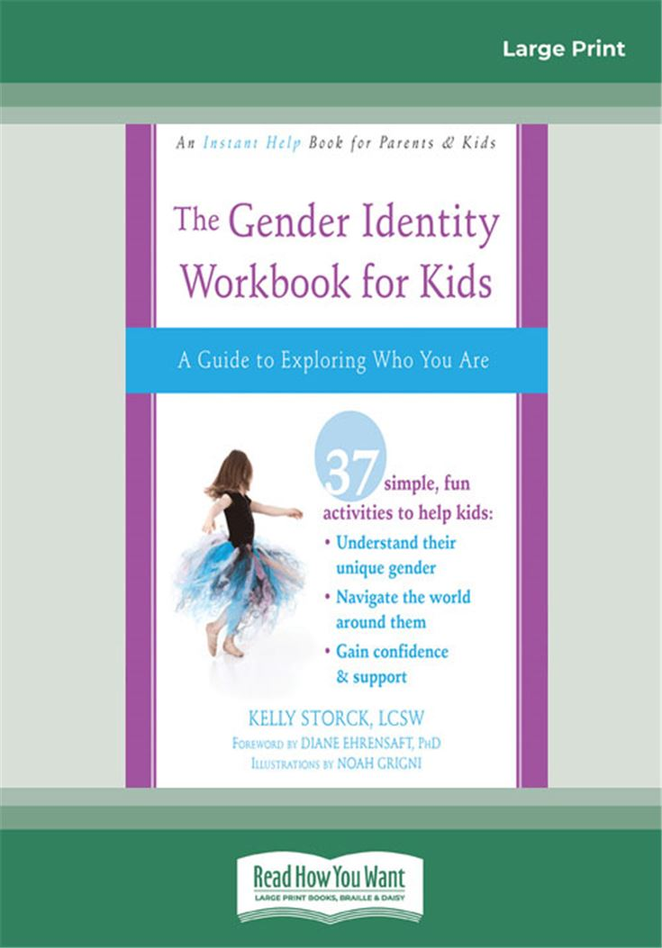Gender Identity Workbook for Kids