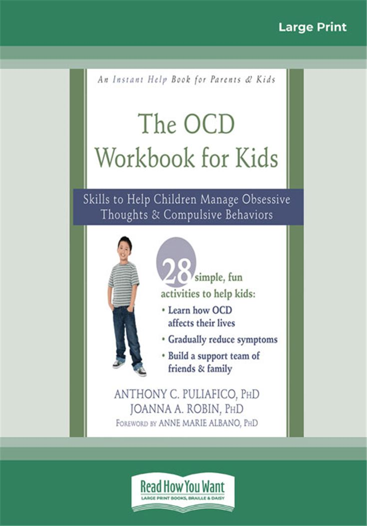 OCD Workbook for Kids