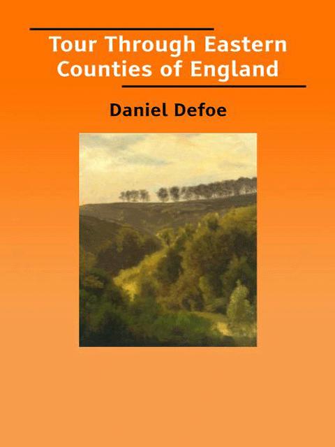 Tour Through Eastern Counties of England