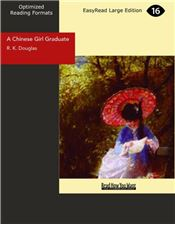 A Chinese Girl Graduate