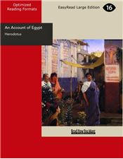 An Account of Egypt