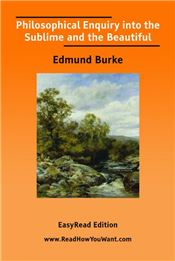 Philosophical Enquiry into the Sublime and the Beautiful