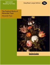 The Poetical Works of Alexander Pope, Volume II