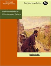 The Fitz-Boodle Papers