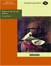 Essays on Life, Art and Science