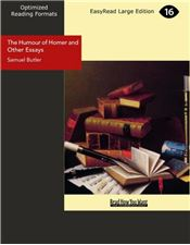 The Humour of Homer and Other Essays