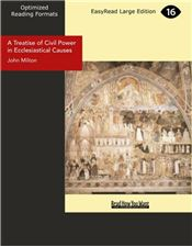 A Treatise of Civil Power in Ecclesiastical Causes