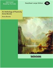 An Anthology of Poems by Anne Bronte