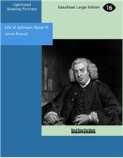 Life of Johnson, Book VI