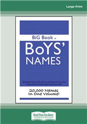 Big Book of Boy's Names