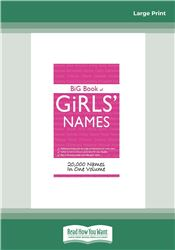 Big Book of Girl's Names