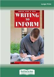 Writing to Inform