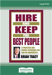 Hire and Keep the Best People