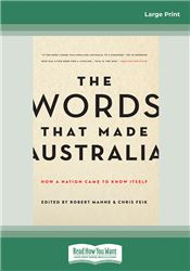 The Words That Made Australia
