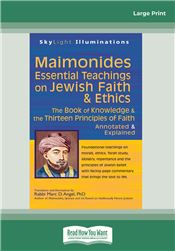Maimonides—Essential Teachings on Jewish Faith & Ethics