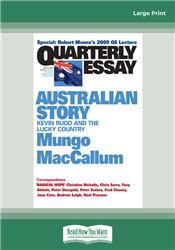 Quarterly Essay 36 Australian Story