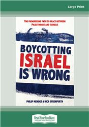 Boycotting Israel is Wrong