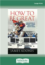How to Be Great