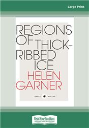 Regions of Thick-Ribbed Ice