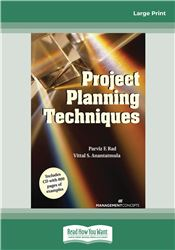 Project Planning Techniques Book (with CD)