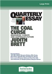 Quarterly Essay 78 The Coal Curse