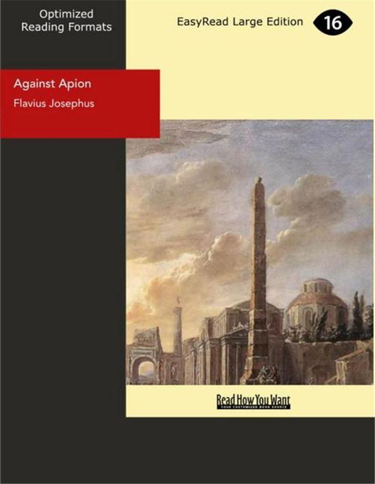 Against Apion