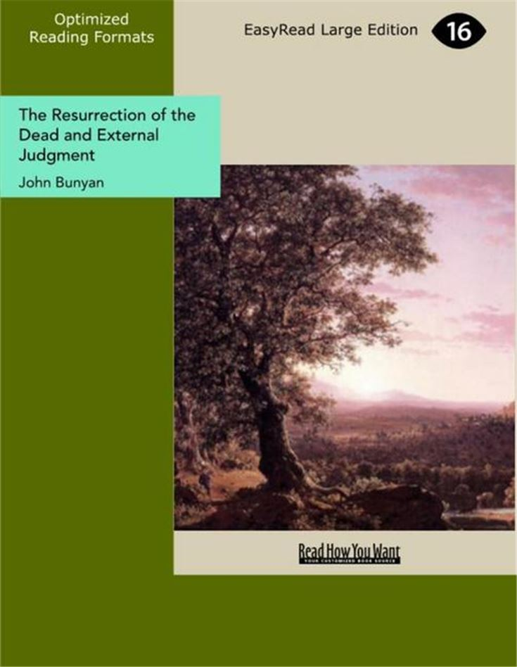 The Resurrection of the Dead and External Judgment