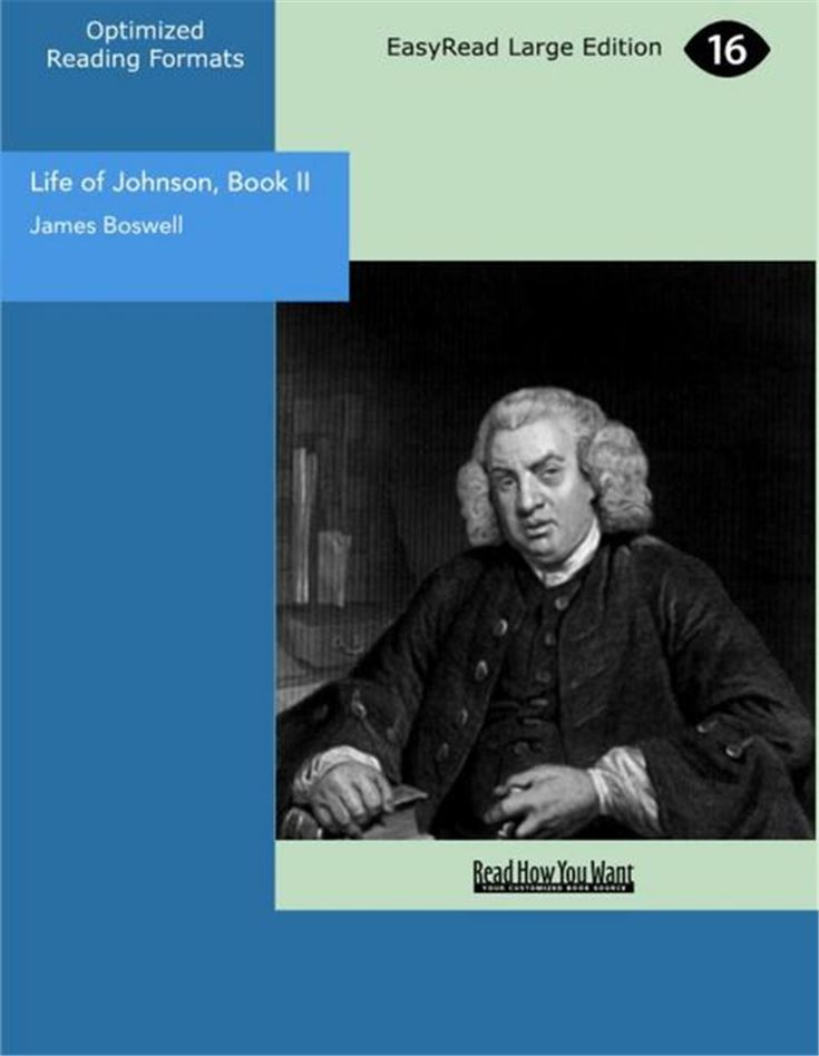 Life of Johnson, Book II