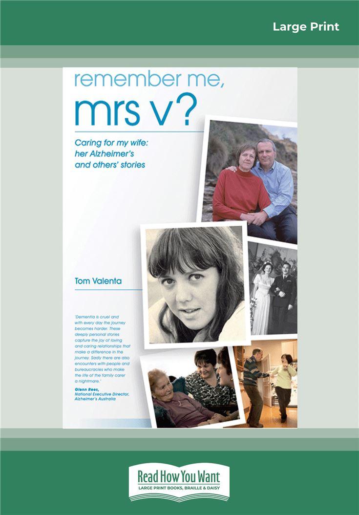 Remember Me Mrs V?
