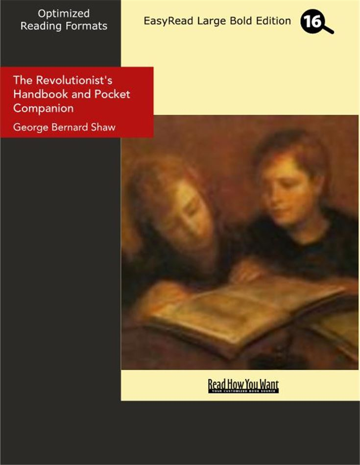 The Revolutionist's Handbook and Pocket Companion