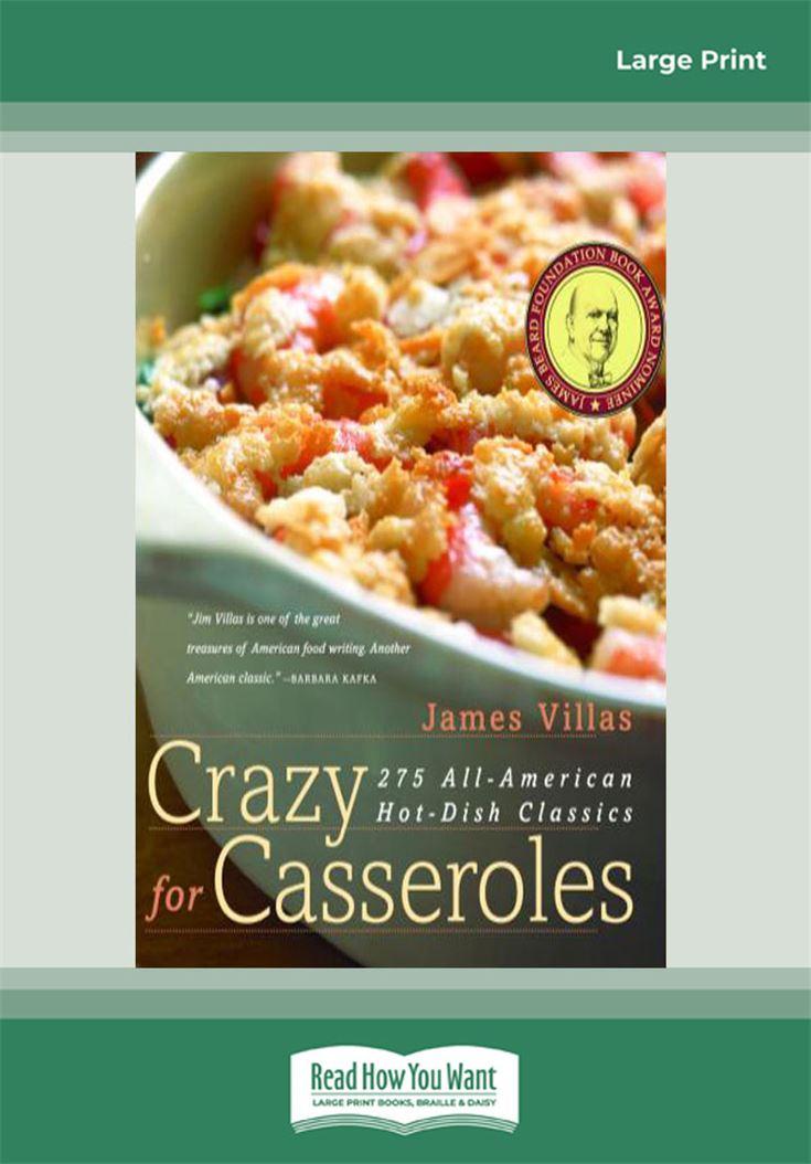 Crazy for Casseroles