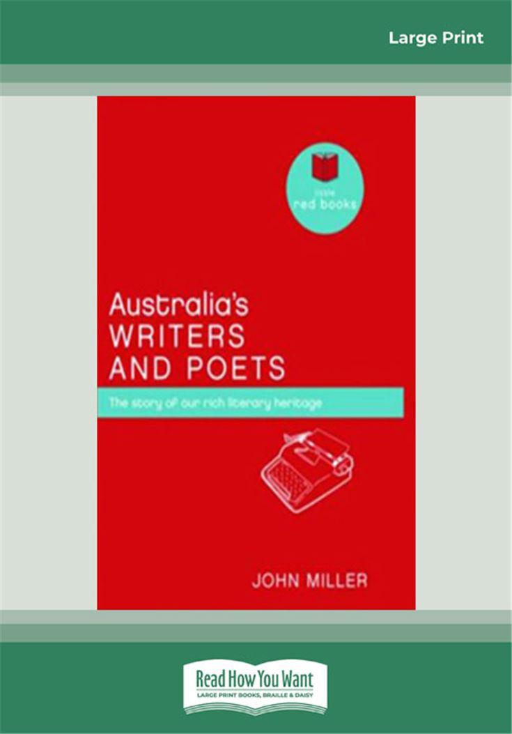 Australia's Writers and Poets