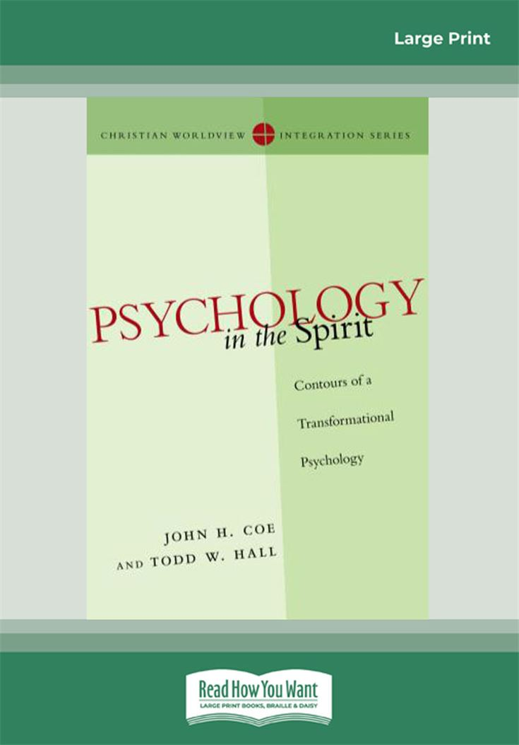 Psychology in the Spirit
