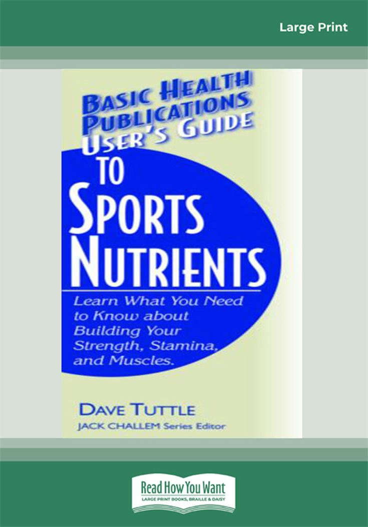 User's Guide to Sports Nutrients