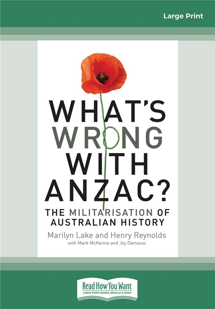 What's Wrong With Anzac?